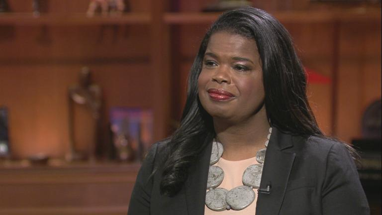 "Cook County State's Attorney Kim Foxx appears on ""Chicago Tonight"" on Dec. 20, 2018."