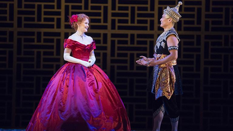 Kate Baldwin and Paolo Montalban in 'The King and I' (Courtesy of the Lyric Opera)