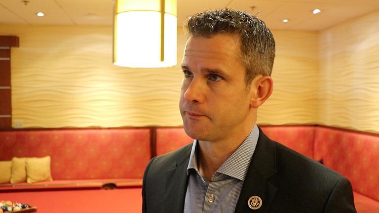 U.S. Rep. Adam Kinzinger (Evan Garcia)