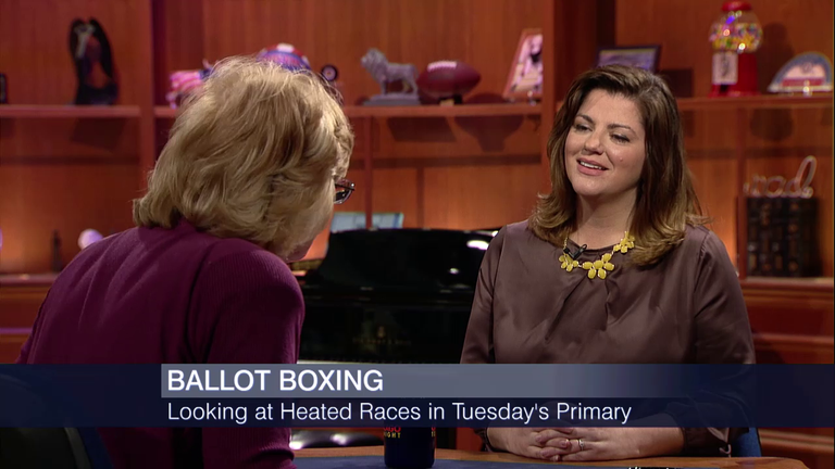 "Natasha Korecki on ""Chicago Tonight"" with Carol Marin"