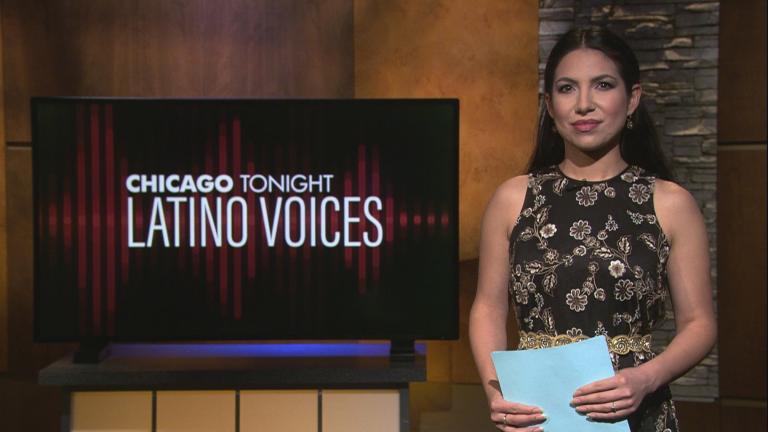 "Araceli Gomez-Aldana of WBEZ guest hosts the 38th episode of ""Latino Voices."" (WTTW News)"