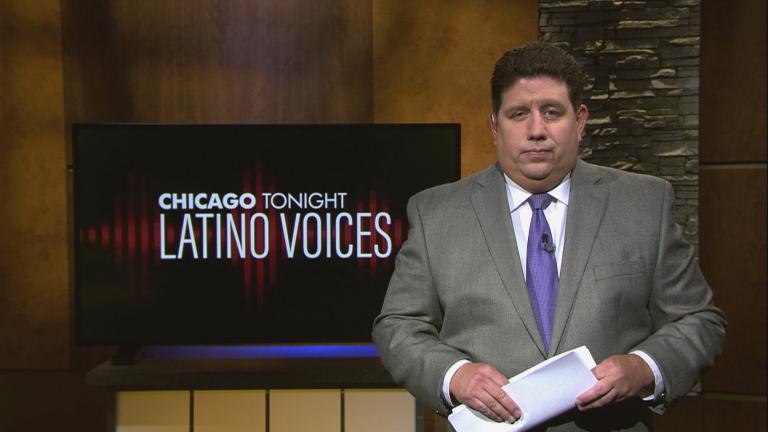 """Michael Puente of WBEZ guest hosts the 40th episode of """"Latino Voices."""" (WTTW News)"""