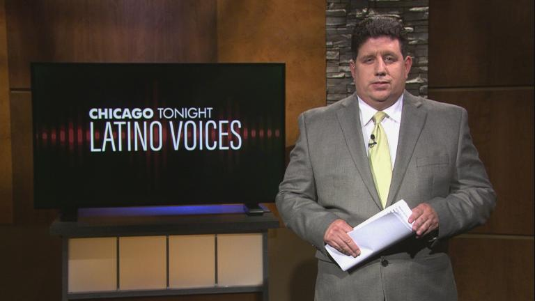 """Michael Puente of WBEZ guest hosts the 44th episode of """"Latino Voices."""" (WTTW News)"""
