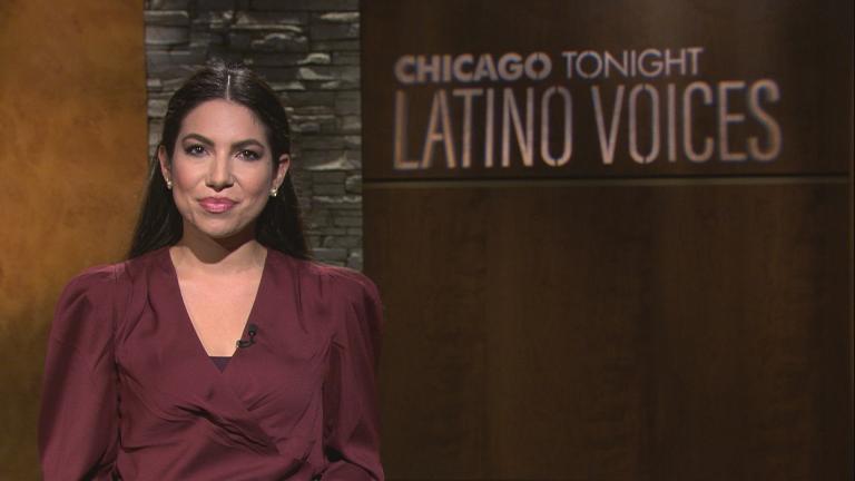 """WBEZ's Araceli Gómez-Aldana guest hosts the 48th episode of """"Latino Voices."""" (WTTW News)"""