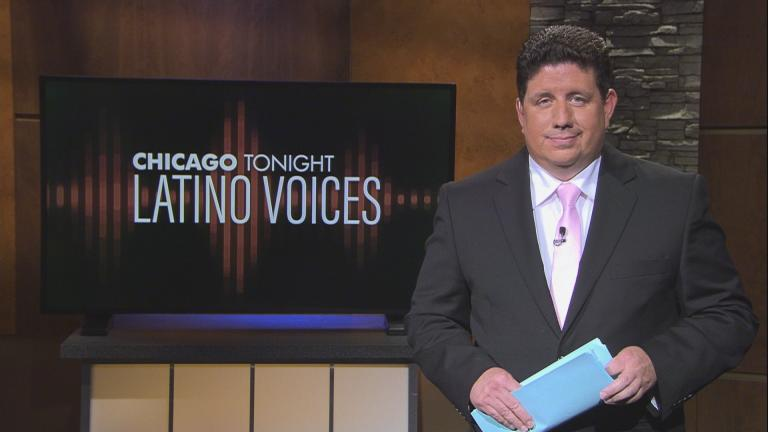 """WBEZ's Michael Puente guest hosts the 50th episode of """"Latino Voices."""" (WTTW News)"""