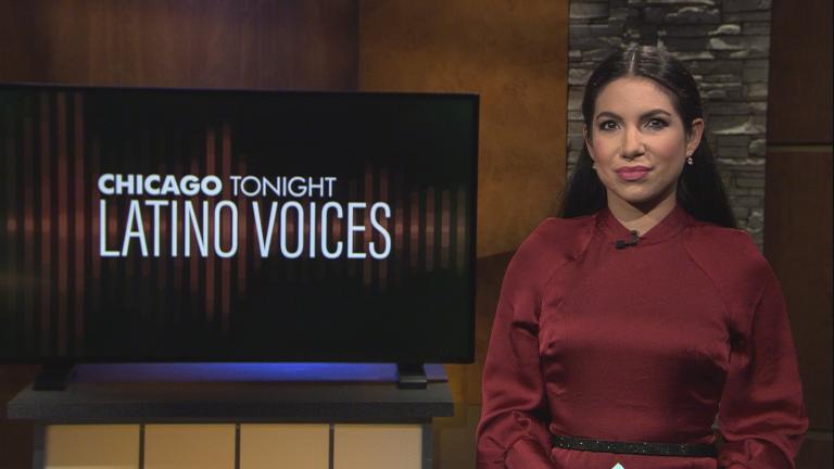 """WBEZ's Araceli Gómez-Aldana guest hosts the 52nd episode of """"Latino Voices."""" (WTTW News)"""
