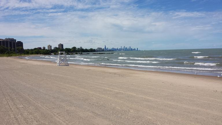 Rainbow Park Beach in Chicago (Steven Kevil / Wikimedia Commons)