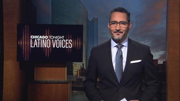 Univisión's Alex Hernández hosts Chicago Tonight: Latino Voices. (WTTW News)
