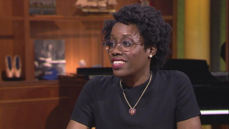 "U.S. Rep. Lauren Underwood appears on ""Chicago Tonight"" on May 28, 2019."
