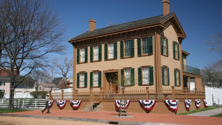 The Lincoln Home National Historic Site in Springfield (Daniel Schwen / Wikimedia Commons)