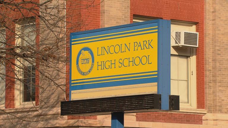Lincoln Park High School (WTTW News)