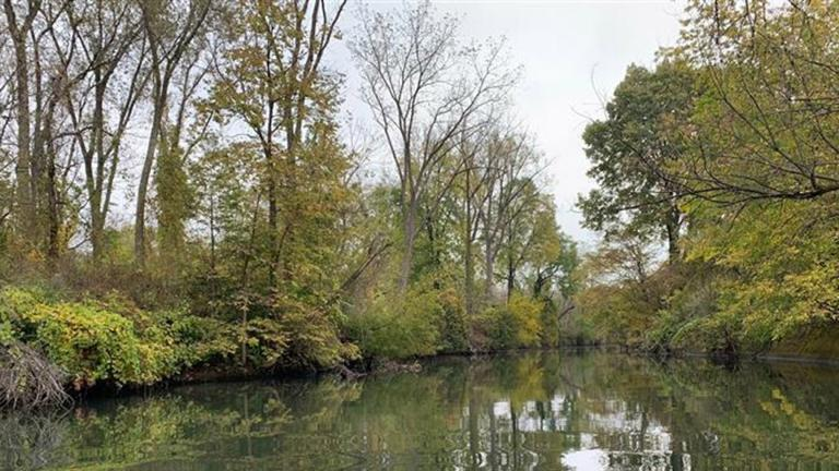 The Little Calumet River. (Charles Morris / National Park Service)