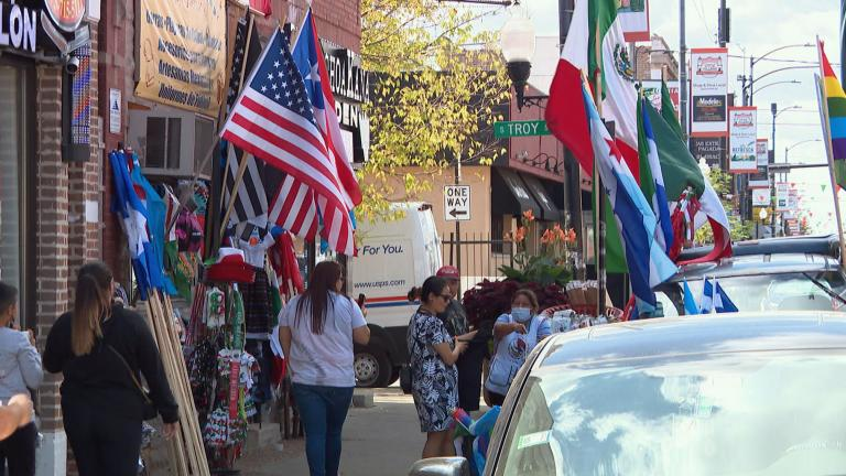The vibrant Little Village community has been bustling with Mexican Pride as celebrations are in full force for Mexican Independence Day. (WTTW News)