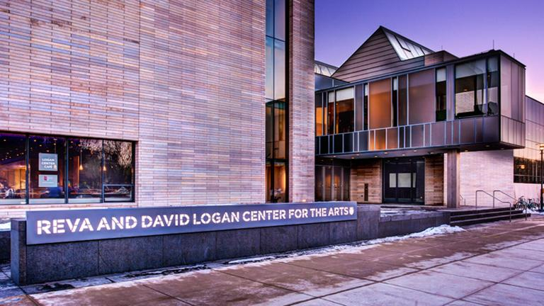Exterior of the University of Chicago's Logan Center for the Arts, designed by Tod Williams Billie Tsien Architects. (Flickr / Chris Smith)