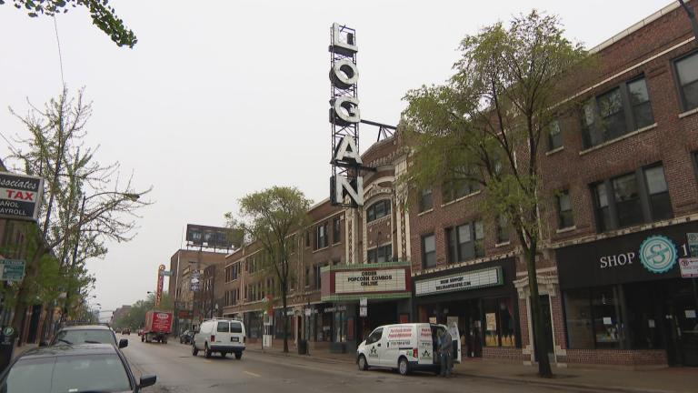 Chicago's Logan Square neighborhood (WTTW News)
