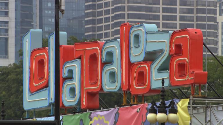 Lollapalooza will return to Chicago at full capacity from July 29 to Aug. 1, 2021. (WTTW News)