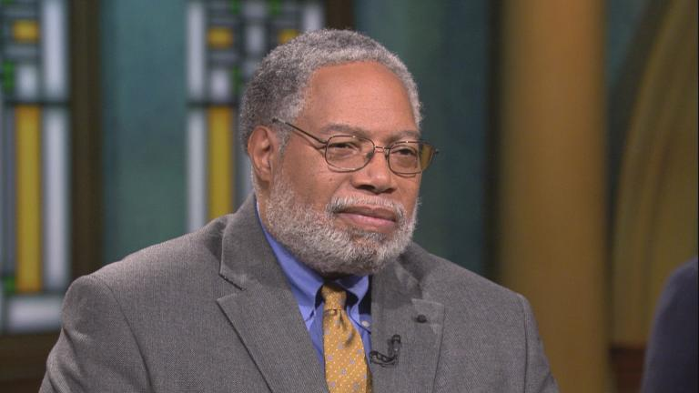 "Lonnie Bunch appears on ""Chicago Tonight"" on Thursday, June 20, 2019."