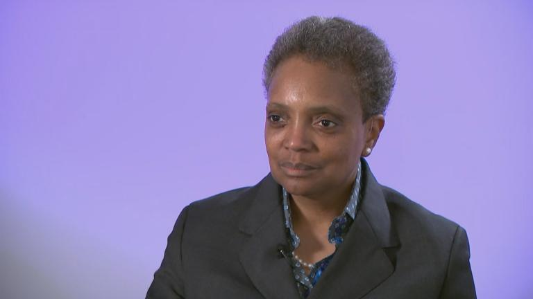 Chicago Mayor-elect Lori Lightfoot speaks with WTTW News on Friday, April 5, 2019.