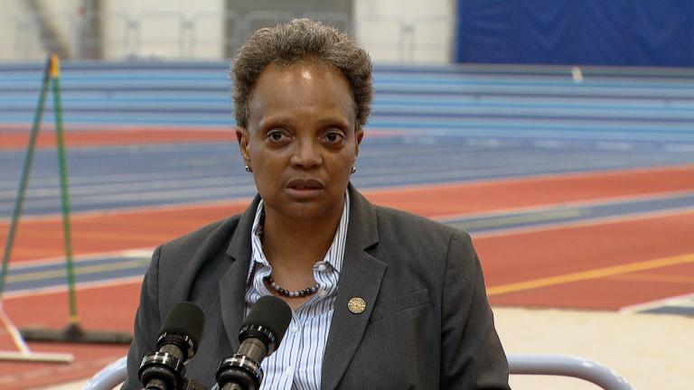 Mayor Lori Lightfoot addresses Chicago's violent holiday weekend on July 6, 2021. (WTTW News)
