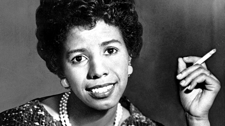 Lorraine Hansberry (Courtesy of The Goodman Theatre)
