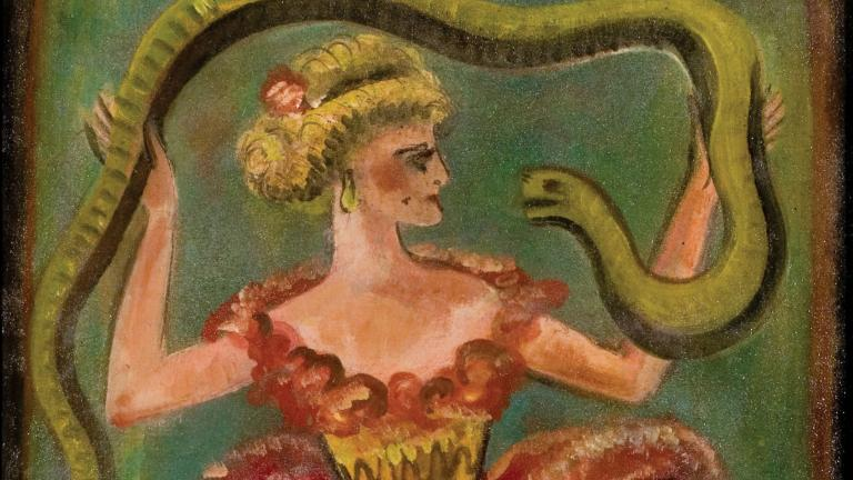 Louis Michel Eilshemius, Snake Dancer, Ricco Maresca Gallery
