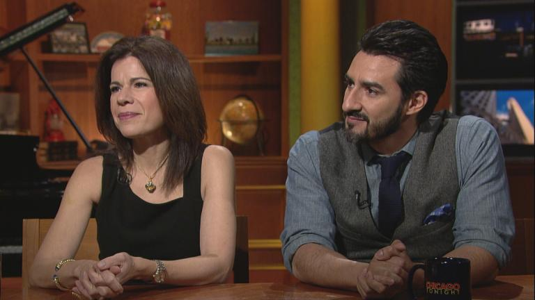 Ana Maria Martinez and Charles Castronovo.