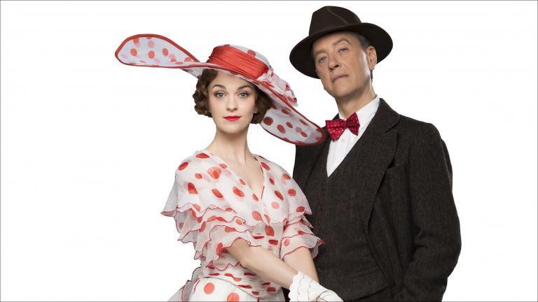 Lisa O'Hare and Richard Grant (Courtesy of Lyric Opera)