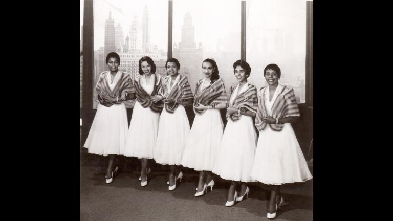 Miss Wonderful 1958 contestants (Courtesy of Ernestine Terry)
