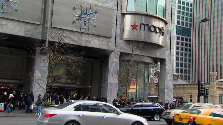 Macy's is departing Water Tower Place. Will Target move in? (WTTW News file photo)