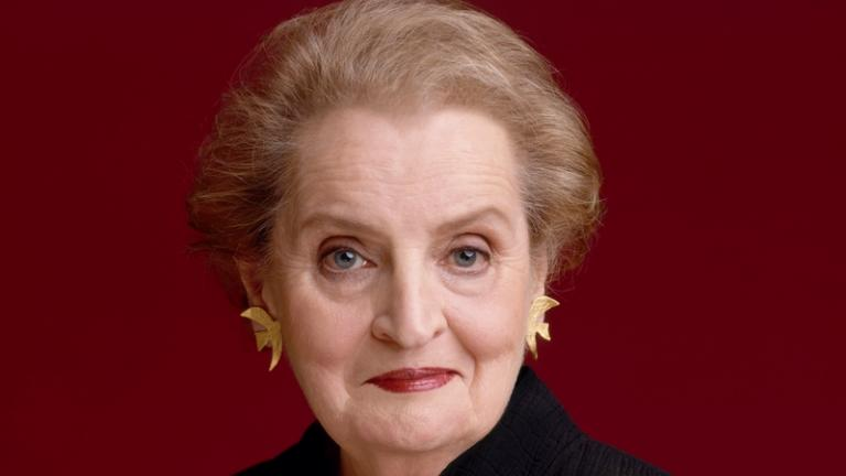 Madeleine Albright; Photo by Timothy Greenfield-Sanders