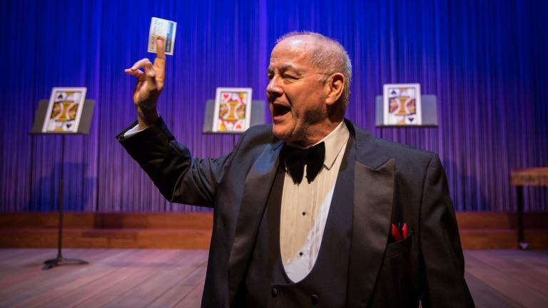 "Francis Guinan performs in the Goodman Theatre's ""The Magic Play."" (Liz Lauren / Goodman Theatre)"