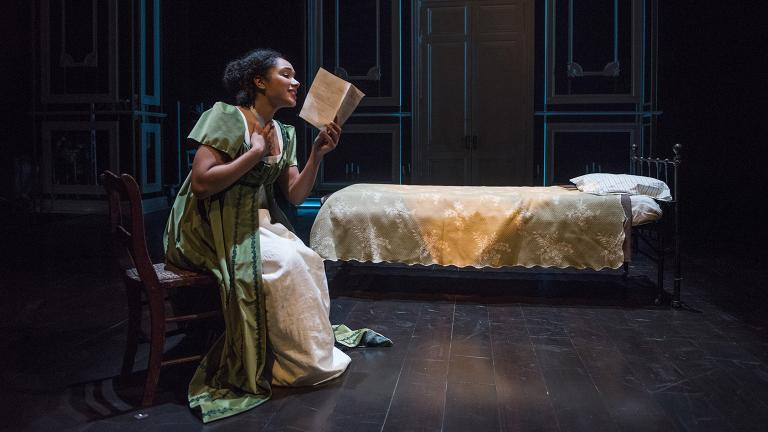 "Kayla Carter in ""Mansfield Park."" (Photo credit: Michael Brosilow)"