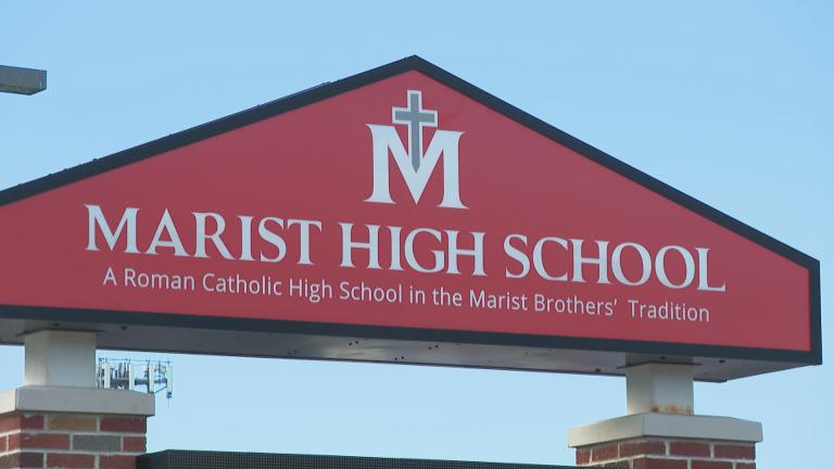 A video showing a group of Marist High School students kneeling during a Spanish song played at a school dance has gone viral. And some students want action to be taken. (WTTW News)