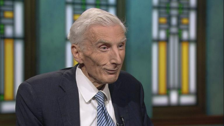 """Martin Rees appears on """"Chicago Tonight."""""""