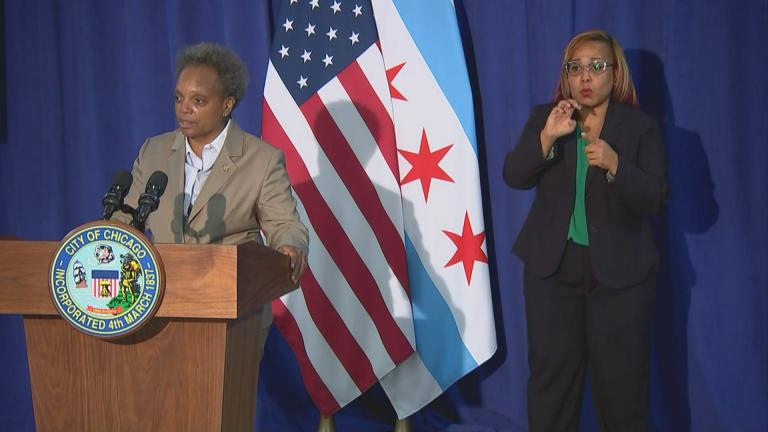 """We remain committed to ethics reform,"" Mayor Lori Lightfoot said at news conference following a vote by the City Council's Ethics and Government Oversight Committee on Tuesday, Oct. 13, 2020. (WTTW News)"