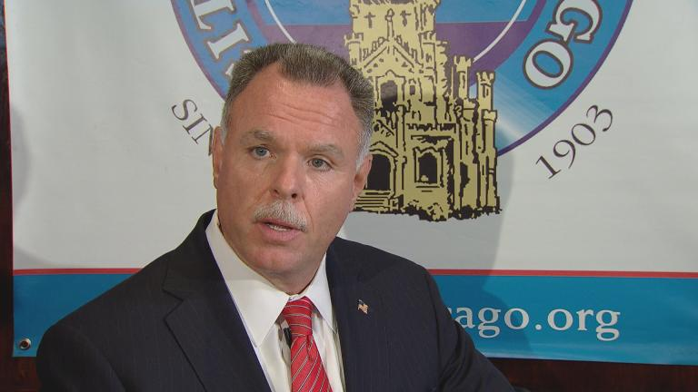 Garry McCarthy speaks at the City Club of Chicago on Monday, Sept. 19.