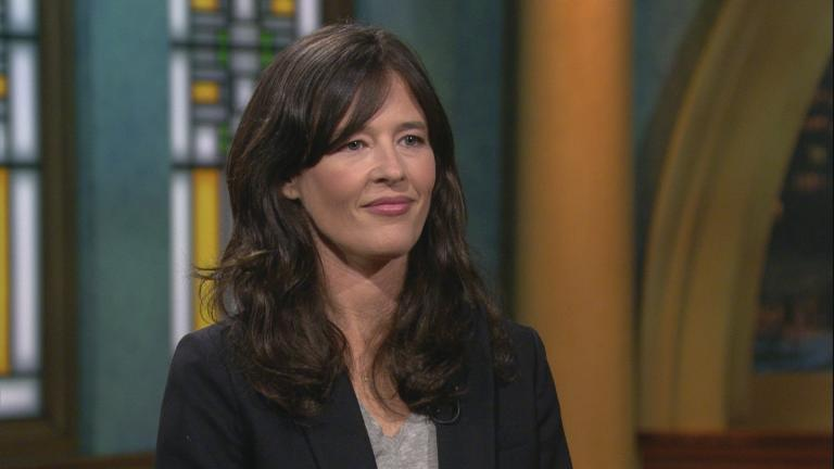 """New York Times reporter Megan Twohey appears on """"Chicago Tonight"""" on Oct. 15, 2019."""