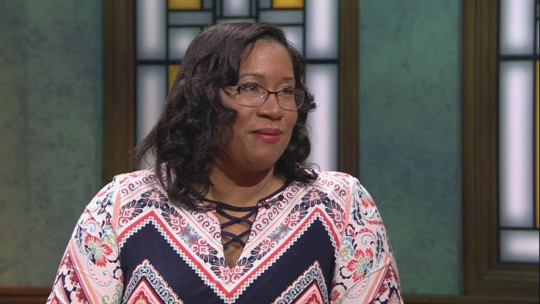 "City Treasurer-elect Melissa Conyears-Ervin appears on ""Chicago Tonight"" on April 4, 2019."