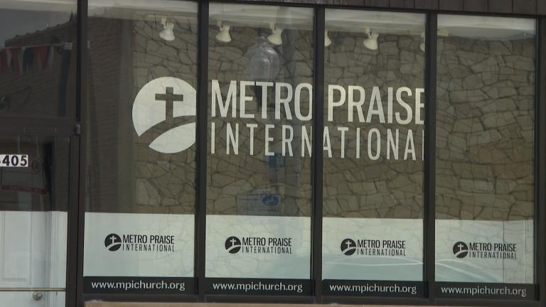 The Metro Praise International Church in Chicago's Belmont Cragin neighborhood. (WTTW News)