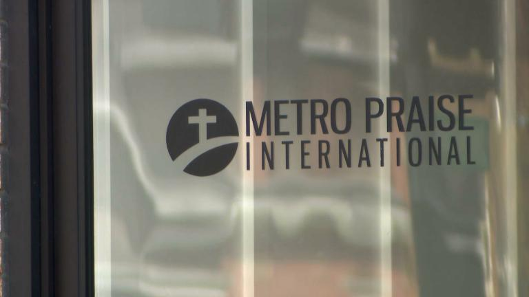 In May, Metro Praise International Church in Belmont Cragin defied the stay-at-home order that closed churches statewide. (WTTW News)