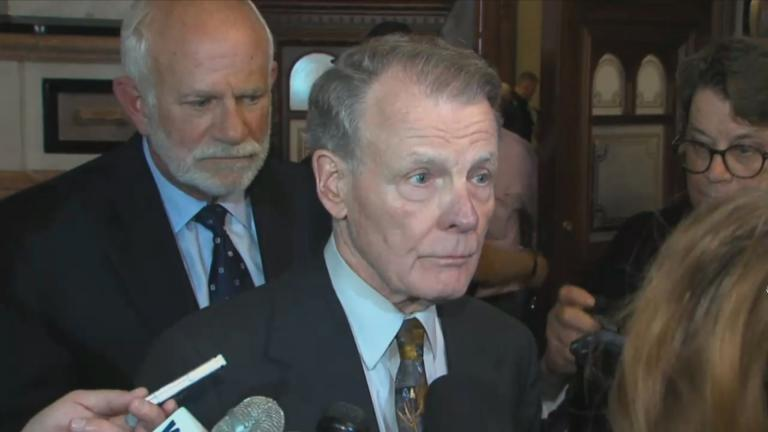 Illinois House Speaker Michael Madigan (WTTW News)