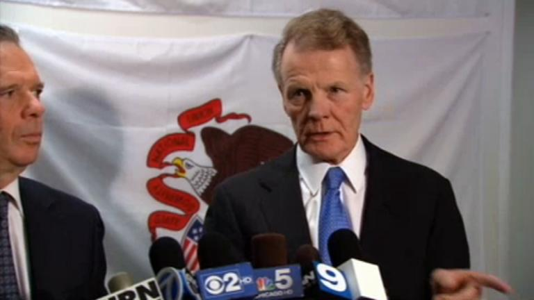A file photo of state Rep. Michael Madigan. (WTTW News)