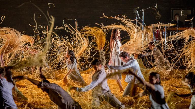 "Joffrey Ballet's North American premiere of ""Midsummer Night's Dream."" (Photo by Cheryl Mann)"