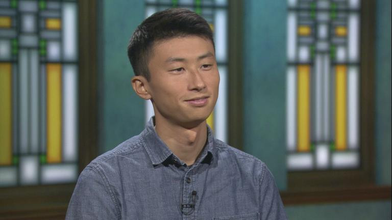 """Filmmaker Bing Liu appears on """"Chicago Tonight."""""""