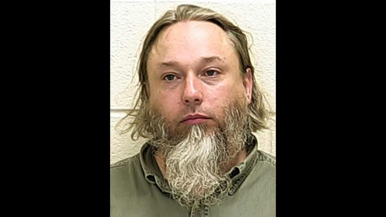 This undated file photo provided by the Ford County Sheriff's Office in Paxton, Ill., shows Michael Hari. (Ford County Sheriff's Office via AP File)