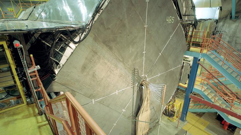 MINOS far detector. Image credit: Fermilab