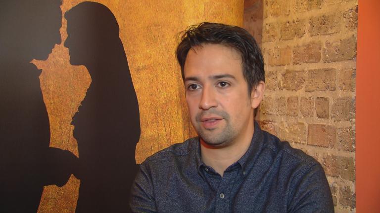 """Hamilton"" creator Lin-Manuel Miranda. (Chicago Tonight)"