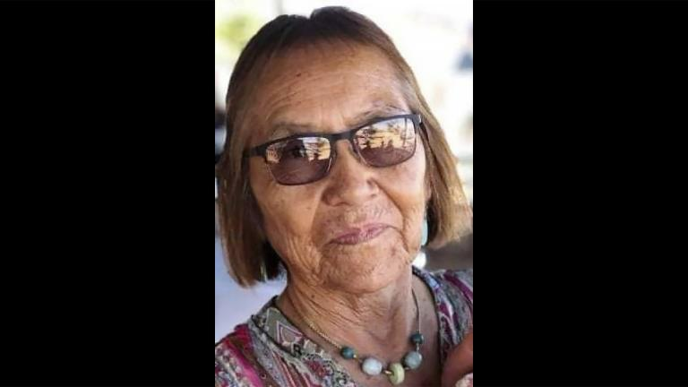 In this undated photo provided by her niece Seraphine Warren, Navajo rug weaver Ella Mae Begay, 62, is shown. Begay is one of thousands of missing Indigenous women in the U.S. (AP Photo)
