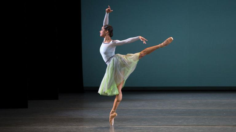 "Misty Copeland, ""Her Notes,"" American Ballet Theatre (Photo: Rosalie O'Connor)"
