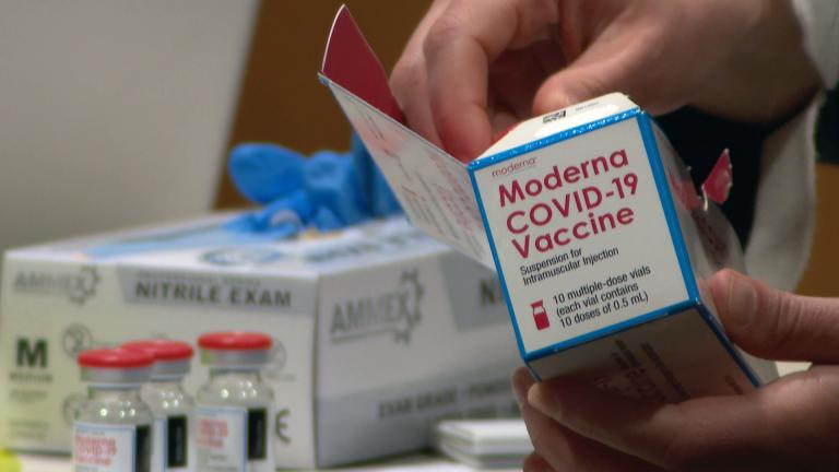 The city is expanding access to COVID-19 vaccines. (WTTW News)